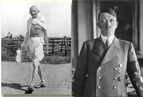 mkgandhi_and_hitler