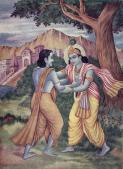 Arjuna_meets_Krishna